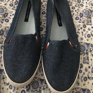 Tommy Hilfiger  Denim Slip On Shoes women 7.5
